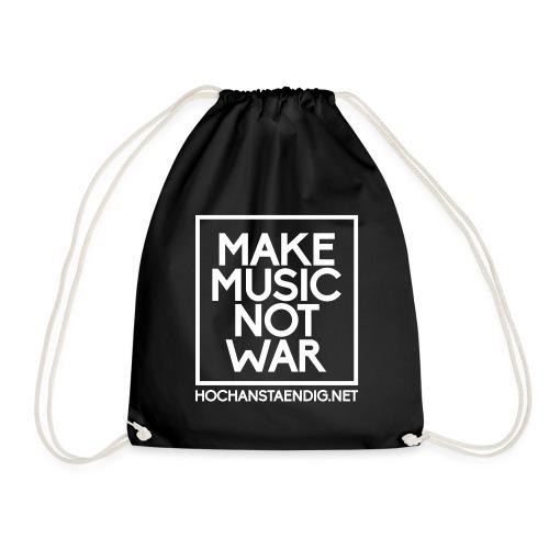 MakeMusicNotWar - Turnbeutel