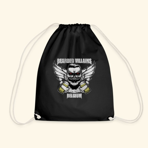 Bearded Villains Belgium - Drawstring Bag