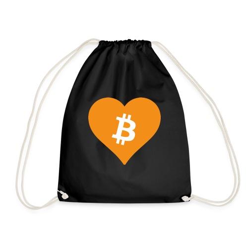 Bitcoin Heart - Gymtas