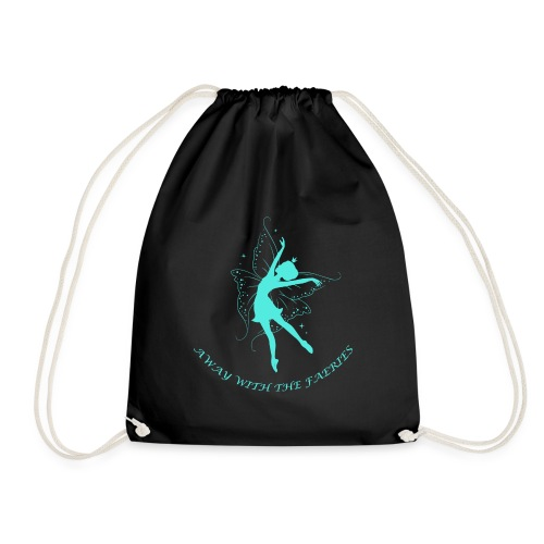 Away with the Faeries - Drawstring Bag