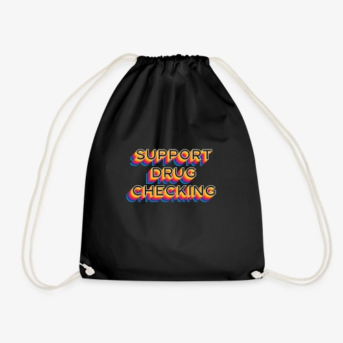 SUPPORT DRUG CHECKING Rainbow - Gymtas