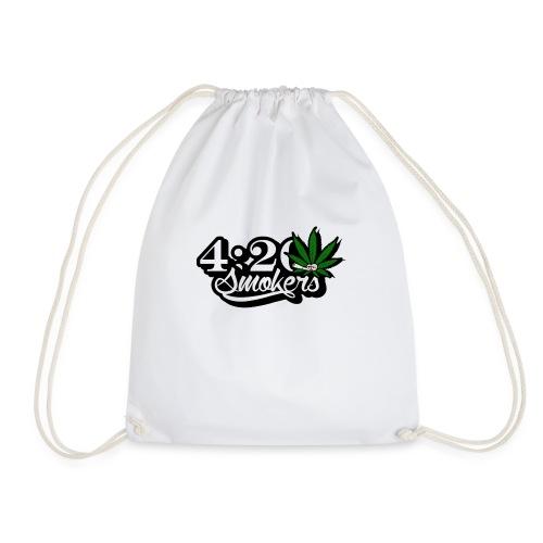 420 smoker - Drawstring Bag