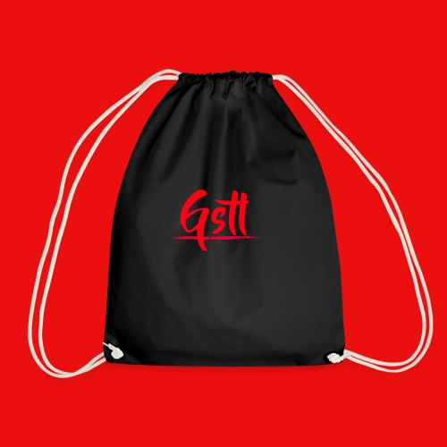 Gstl Red Logo - Drawstring Bag
