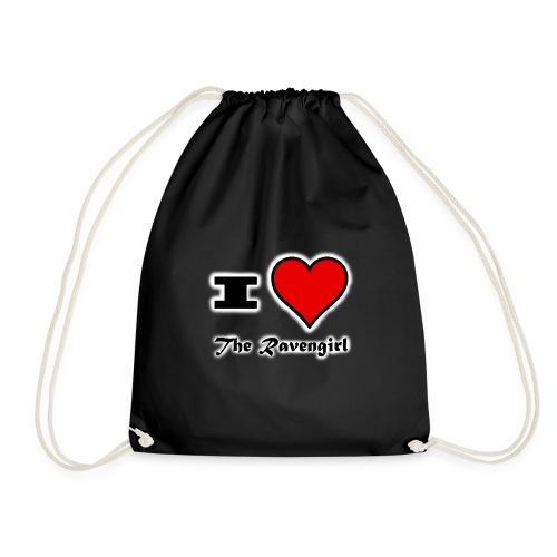 'I Love The Ravengirl' - Drawstring Bag