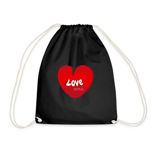 Love Wins - Drawstring Bag