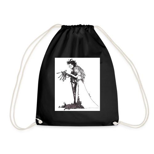 EdwardScissorhands.jpg - Drawstring Bag