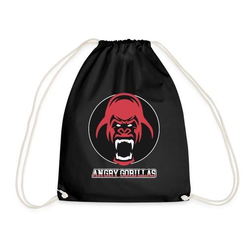 ANGRYGORILLAS Snapback Black/Grey (Logo) - Turnbeutel