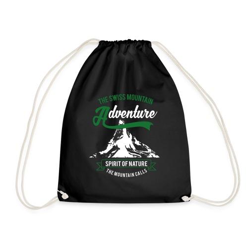 The Swiss Mountain - Drawstring Bag