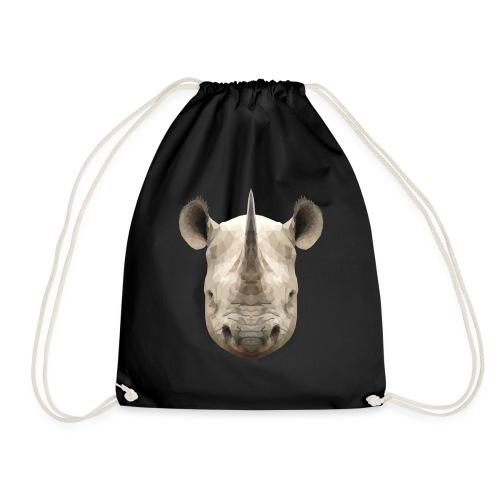 LowPoly Rhino - Gymnastikpåse