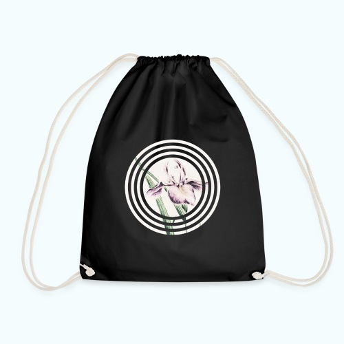 Lilies watercolor - Drawstring Bag