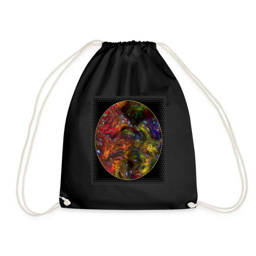 Who will arrive first - Drawstring Bag