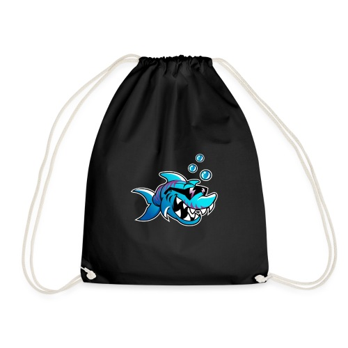 Cool Shark - Drawstring Bag
