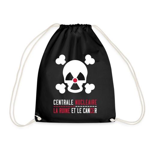 Centrale nucléaire - la ruine et le cancer - Sac de sport léger