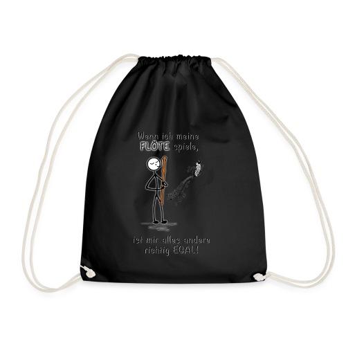 Recorder Love f. bright colours - Drawstring Bag