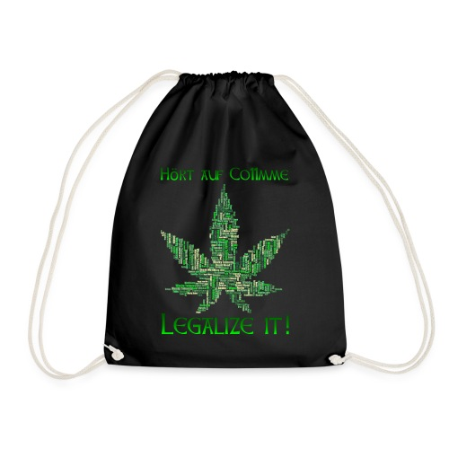 Legalize Weed (Germany) - Turnbeutel