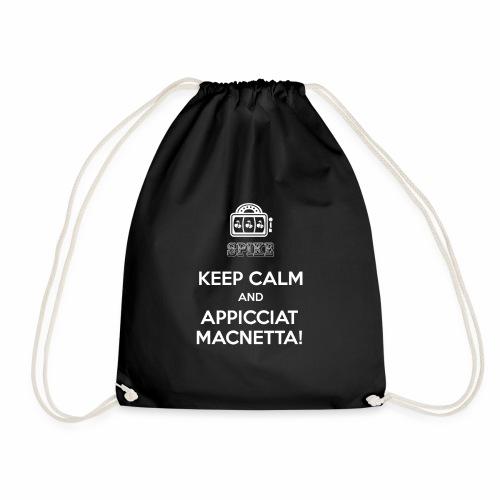 KEEP CALM bianco - Sacca sportiva