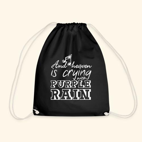 Heaven is crying - Prince - Drawstring Bag