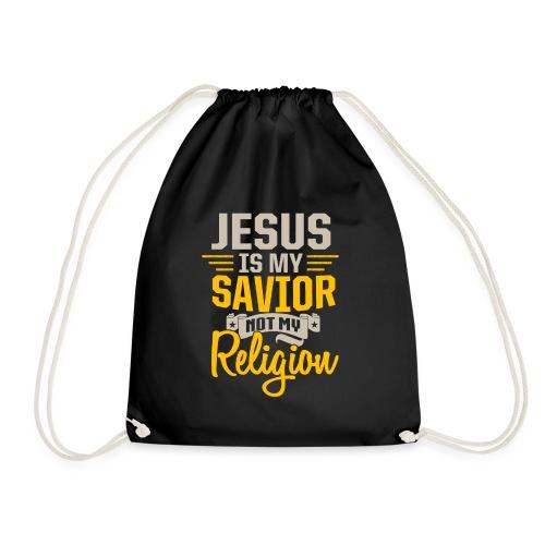 Jesus ist mein Erlöser - Turnbeutel