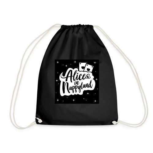 Alice in Nappyland 1 - Drawstring Bag