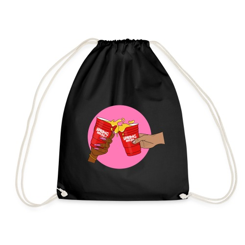 Pink/Red - Spring Break Portugal 2019 - Drawstring Bag