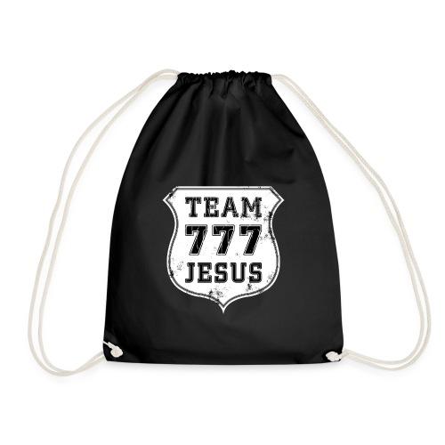 TEAM 777 JESUS EMBLEM - Turnbeutel