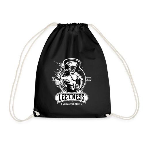 Leetness - Men's sports shirt - Drawstring Bag