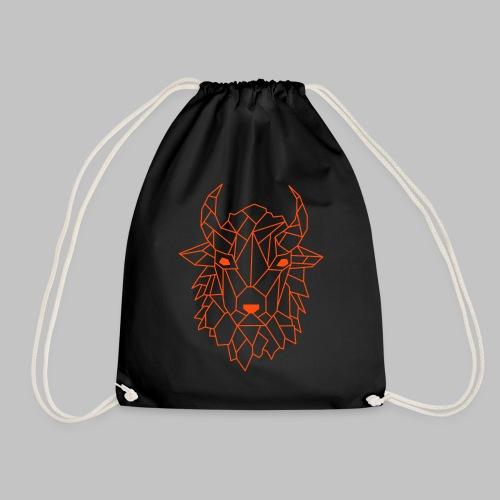 Bison - Drawstring Bag