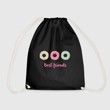 donate Homer sweet snack love enjoy pink love - Drawstring Bag