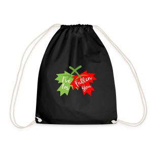 Funny Valentine's Day Ive Fallen for You Design - Drawstring Bag