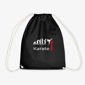 Karate weiß - Turnbeutel