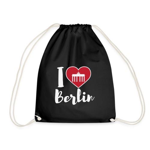 LIMITIERTE EDITION: I Love Berlin,Geschenkidee, - Turnbeutel