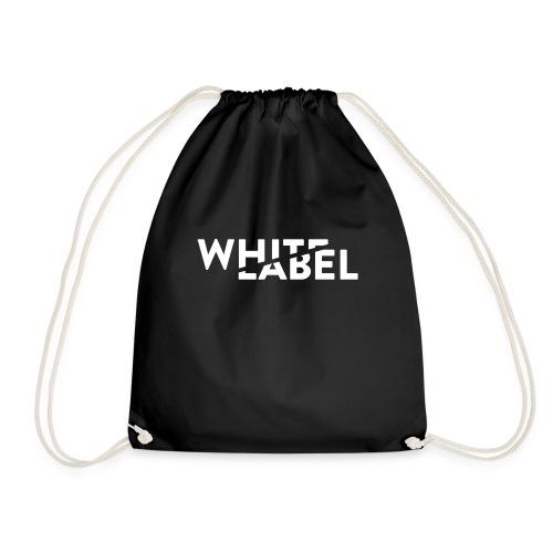White Label Logo White - Sacca sportiva