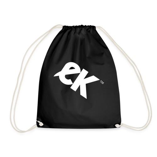 EK logo wit #1 - Gymtas