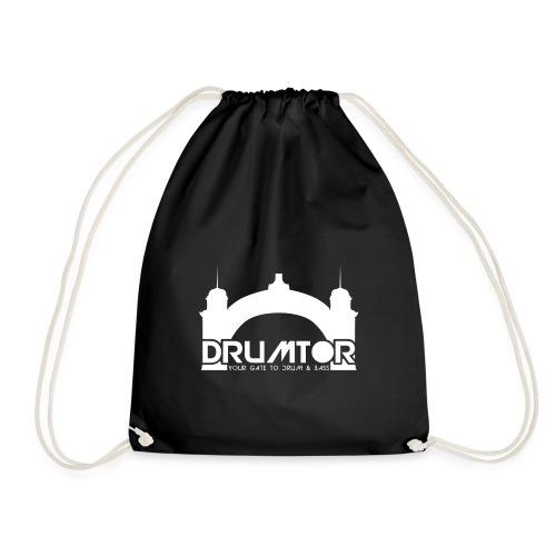 drumtor logo frei bw - Turnbeutel