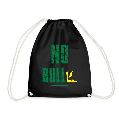 No Bull-y (bully) vector-image - Drawstring Bag