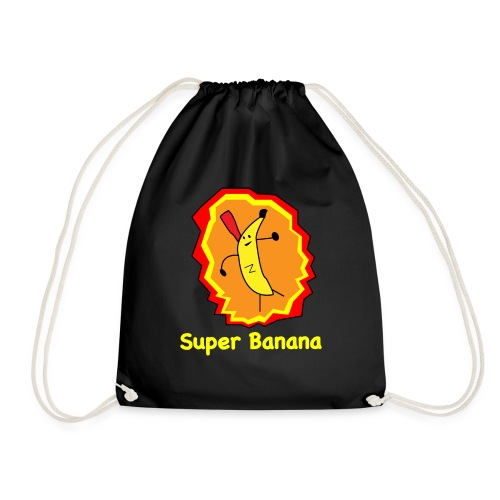 Super Banana - Drawstring Bag
