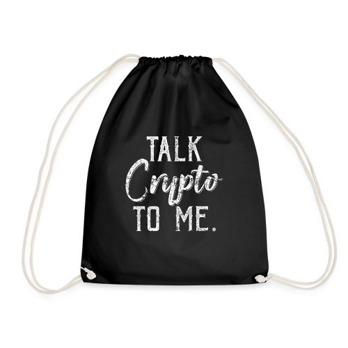 Talk Crypto To Me Cryptocurrency - Turnbeutel