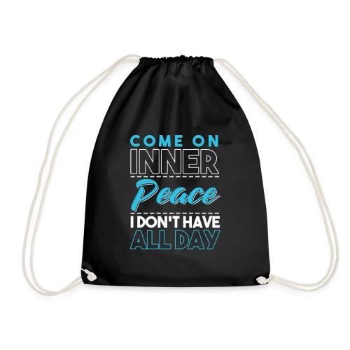 Inner Peace Meditation Funny Yoga Lover Gift - Turnbeutel