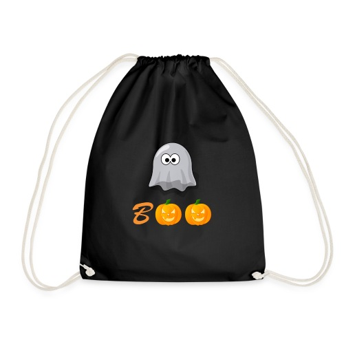 Boo Halloween Geister Kürbis Shirt für Kinder - Turnbeutel