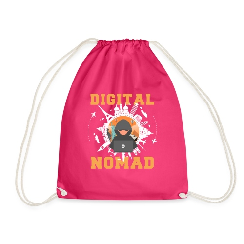 Digital Nomad - Turnbeutel