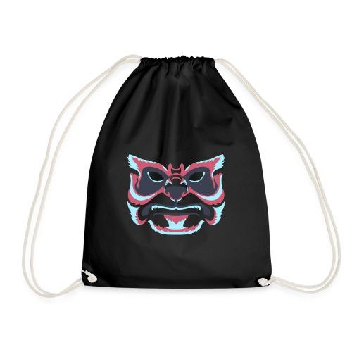 Monster face - Drawstring Bag
