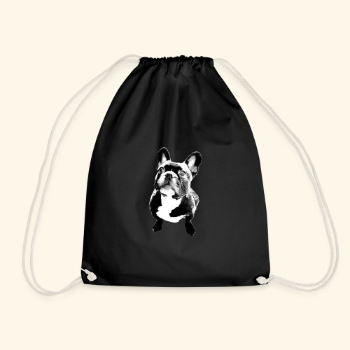 French bulldog - Drawstring Bag