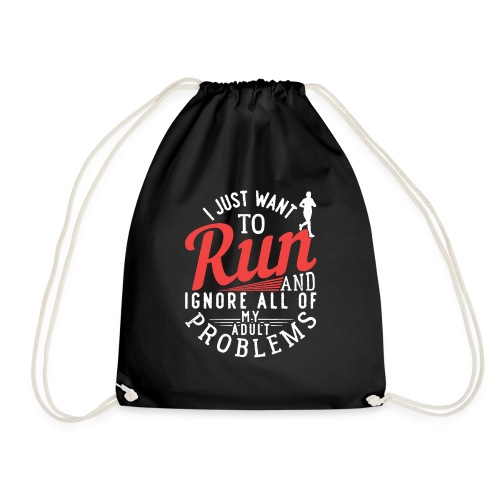 I Just Want To Run   Marathon - Turnbeutel