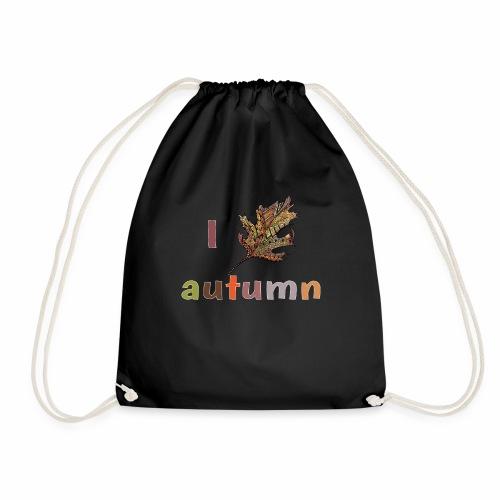 Herbstlaub Design Herbst - Turnbeutel