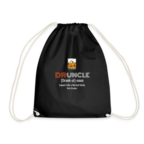 Druncle T-shirt Funny drunker uncle - Sac de sport léger