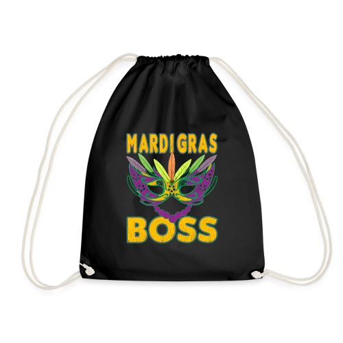Funny Mardi Gras Boss Shirt Party Carnival gift - Sac de sport léger