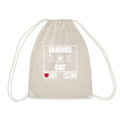Famous Cat - Turnbeutel