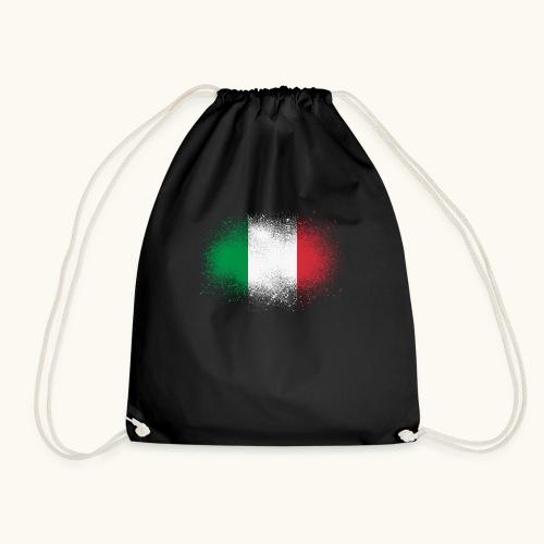 Italie cadeau drôle de drapeau italien grunge - Sac de sport léger