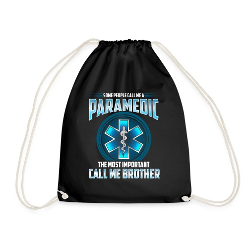 Paramedic Brother Shirt - Drawstring Bag