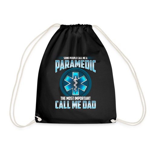 Paramedic Dad Shirt - Drawstring Bag